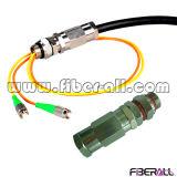Fan-out Kabel van het Flard van de multi-Vezel van het Type de Openlucht Waterdichte Optische