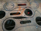Алюминиевые плазма CNC Gantry и автомат для резки кислорода