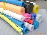 Tubo llenado espuma del PE, tubo de EPE, tubos huecos de la espuma