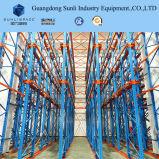 Mecanismo impulsor de alta densidad en el fabricante de acero del estante de la paleta del almacenaje del almacén