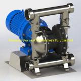 폴리프로필렌 또는 무쇠 또는 알루미늄 합금 또는 스테인리스 또는 압축 공기를 넣은 전기 격막 펌프