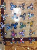 Fileur de plastique de main de fileur de personne remuante en métal EDC de diverse vente chaude de couleurs