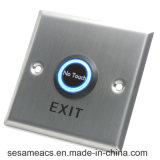 Tecla Notouch da porta da indução infravermelha do aço inoxidável (SB86NT)