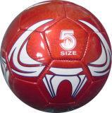 Balón de fútbol de costura de la máquina del PVC 5#
