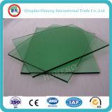 """vetro """"float"""" tinto verde scuro 6mm di 4mm 5mm con il certificato del Ce di iso"""