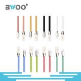 Cable de datos colorido vendedor caliente del USB para el teléfono móvil