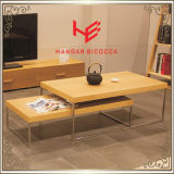 Lijst van Furnitureconsole van het Hotel van het Meubilair van het Huis van het Roestvrij staal van het Meubilair van de Lijst van de Thee van de Lijst van het Meubilair van de Lijst van de koffietafel (RS161001) de Zij Moderne