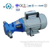 Pequeña transferencia diesel eléctrica portable de la bomba de petróleo del engranaje de Wcb