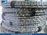 De draden voor Enige Draad zagen het In blokken snijden van de Machine, van het Marmer en van het Graniet