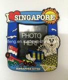 Blocco per grafici molle della foto del PVC dei ricordi di corsa di Singapore con il magnete