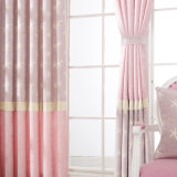 Cortina de ventana al por mayor del dormitorio del damasco del fabricante con bordado