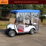 2+2 Seater elektrische Golf-Karre mit faltender Windschutzscheibe (Regendeckel kann choosed)