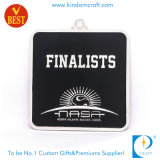 Promotion Custom Sport Award Stamp Football Finaliste Médaille d'argent