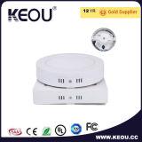 최신 판매 사각 LED 위원회 24W Ra>80 PF>0.9 천장