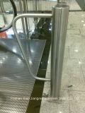 Corrimano su ordinazione del balaustro di Shopingmall dell'hotel della colonna della balaustra della scala dell'acciaio inossidabile