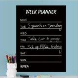 Decalcomania personalizzata del calendario con l'autoadesivo del gessetto per lavagna di settimana dell'indicatore del gesso del PVC