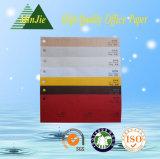 Papel decorativo grabado cubierta especial del color para el álbum del libro y de foto