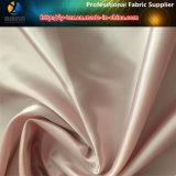 75D Satin, Tissu en polyester satiné, Tissu satiné en soie pour robe (R0042)