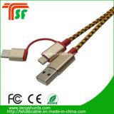 всеобщий кабель данным по USB 3in1 для всех телефонов