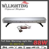 88W警察LEDのライトバーの赤か白