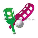 De Racket van de Lepel van Indoor&Outdoor met Aangepast Embleem wordt geplaatst dat