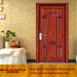 Pintar folha aberta do estilo do balanço da cor a porta de madeira da única (GSP2-021)