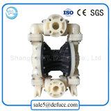 Bomba de diafragma enlameada pneumática da descarga da água de Qbk-50 China