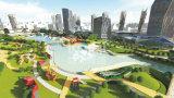 Kaiqi im Freien Spielplatz-Entwurf und Fertigung für das Gesamte des Parks Attactions oder des Stadtzentrums