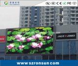 P6mm Outdoor Advertising Billboard tela colorida LED