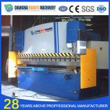 Precio plateado de metal hidráulico de la dobladora del CNC de We67k