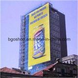 Cerca da tela da impressão do carrinho da bandeira da bandeira do engranzamento do PVC (500X1000 18X12 370g)