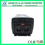 デジタル表示装置(QW-P2000)が付いている2000W DCの交流電力インバーター