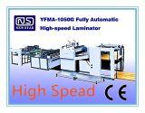 Máquina de alta velocidade automática Yfma-1050g da laminação da imprensa quente