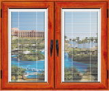 Fabrik Price Good Design Aluminum Profile Casement Window mit Louver