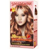 Crema permanente di colore dei capelli di Speedshine di 10 minuti