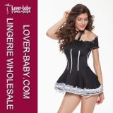 Halloween Lady Maid Outfit Sexy Maid Costume (L1105)