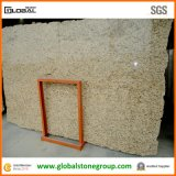 Natürliches Giallo Ornamental Granite Slab für Kitchen Bathroom Countertops