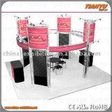 Braguero de aluminio de la visualización de la exposición de la etapa de la venta caliente