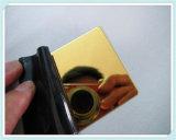 Le miroir 201 304 a repéré la feuille titanique d'acier inoxydable de décoration