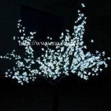 Luz ao ar livre da árvore de cereja da decoração do diodo emissor de luz para o Natal