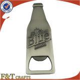 Abridor de frasco Handmade da prata do espaço em branco da cerveja do metal da alta qualidade (FTBO2111A)