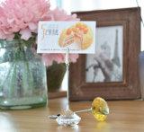 Владельца карточки венчания кристаллический декоров таблицы венчания кристаллический