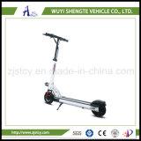 新式の8inch小型折りたたみの電気一人乗り二輪馬車のスクーター