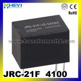 Релеие PCB, электромагнитные релеие, релеие Minniature, Jrc-21f (4100)