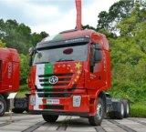Testa del trattore dell'Saic-Iveco Hongyan 6X4 M100 calda nell'Uganda