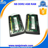 Низкая компьтер-книжка Density 256mbx8 RAM Memory DDR2 4GB