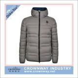 Water-Resistant 주문 로고를 가진 남자 겨울 훅부는 사람에 의하여 덧대지는 재킷