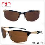 Metall der Männer Sports Sonnenbrillen mit Sprung-Bügel (WSP-7)