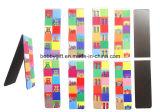 Segnalibro di carta piegante su ordinazione del magnete del frigorifero di vendita calda