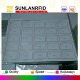 Hoja plástica del PVC de la inyección de tinta material de la tarjeta de la identificación de la hoja del embutido S50 A4 de M1 RFID
